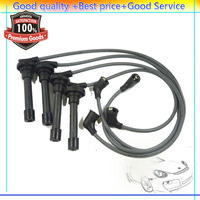 Free shipping New Ignition Spark Plug Wire Cable Set For Honda Prelude 671-4173 9544C NGK 9793(DHDLHD001)