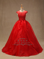 2014 red wedding dress tube top lace embroidered wedding qi sweet bride festive wedding