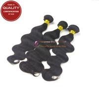 Grade A+ Peruvian Virgin Hair Body Wave Virgin Hair Products Unprocessed Virgin Human Hair 3pc Lot Natural Black Hair Weaves