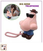 Big Nose Telephone / Corded Landline Phone gift cartoon mini phone quality telephone