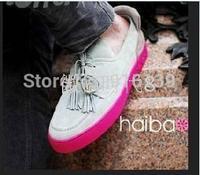 Luxury Fashion Men Casual Sneakers Lace-up Tassel Board Shoes Brand Men Flats Kanye West Men Sport Shoes Plus Size 38-46