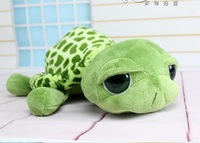 Free shipping 2014 new cute big eyes small turtle tortoise doll stitch plush toys girls dolls baby turtle toy Christmas gift 1PC
