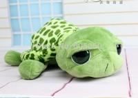 Free shipping 2014 new cute big eyes small turtle tortoise doll stitch plush toys girls dolls baby turtle toy Christmas gift 1PC