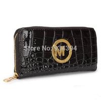 High Quality Fashion Brand Patent Snakeskin Leather Female Wallet Women Clutch Purse Bolsas Femininas Carteira Bags Card Holder