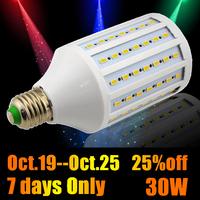 New arrival 102leds SMD 5730 E27 led lamps 30W 220V-240V LED corn bulb Lighting,White/Warm White led chandelier free shipping