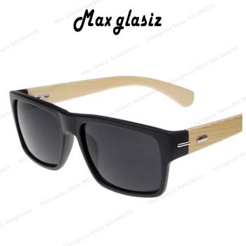 2014 новый пластиковая передняя W натуральный рожок солнцезащитные очки конструктор ...