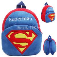 Free Shipping Retail Mini Baby Backpack,Kids Superman Bag, Children School Bags mochila infantil