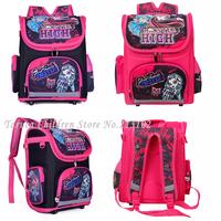 Orthopedic Primary Cartoon School Bags Backpack For Girls Children/Kids Book/Student Bags Hard Back Grade 1-3-5 Mochila Infantil