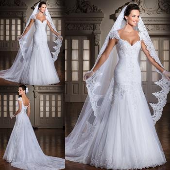 На заказ 2014 Vestido Noivas новинка спинки аппликации узелок вернуться свадебное платье свадебное платье со съемными поезд