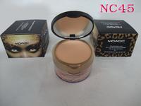 1pcs retail NO274A makeup pressed powder cake +loose powder 2 in 1,4 colors free shipping