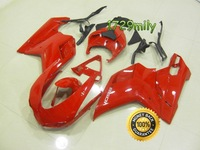 Popular Design 2007-2012 For Ducati 848 1098 1198 Motorcycle Body Cowl Red Oem FFKDU004
