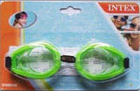 Hot selling Intex 55602 fun goggles swimming goggles submersible mirror child swimming glasses