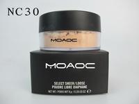 1pcs retail NO950 makeup loose powder,10 colors free shipping