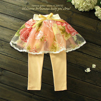 Wholesale 5pcs/lot(#FP2613) , baby girls skirt pant