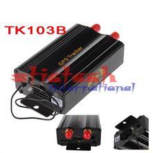 50% SHIPPING FEE  10 pieces coban TK103B GPS tracker+ Remote Control Quadband Car Alarm PC GPS tracking Google map(China (Mainland))