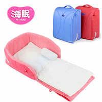 Top Quality  Portable Newborn Baby Cradle  Crib  Comfortable Dismountable Baby Cot/Bassinet