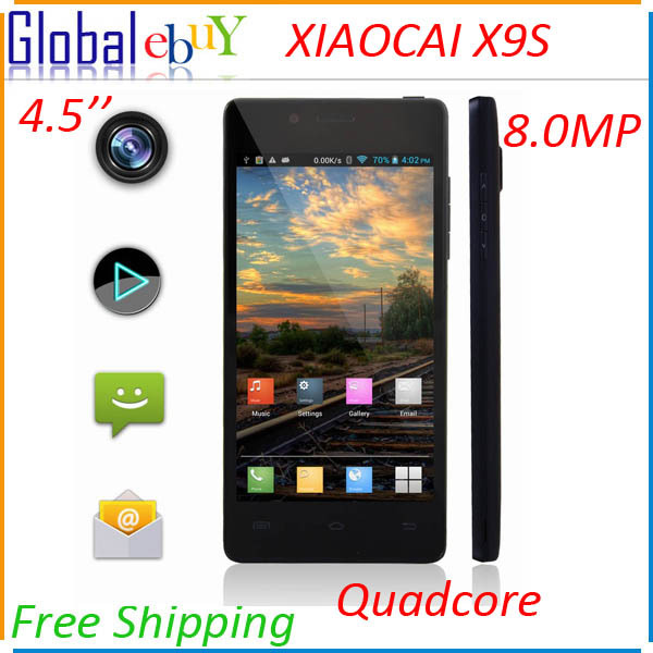 New 4.0 Inch Smartphone Original Cubot GT90 MTK6572W Dual Core 3G Cellular Mobile Phone Android 4.2 WVGA 5MP Cell Phones(China (Mainland))