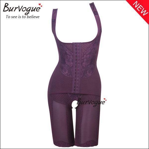 HOT SALE AUTHENTIC BURVOGUE bodysuits butt lift shaper Firm Tummy Body Control Slimming waist(China (Mainland))