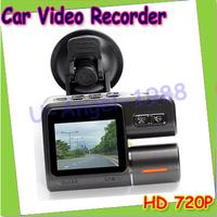 HD 720P Dashboard Car vehicle Camera Video Recorder DVR CAM G-sensor+ Free shipping