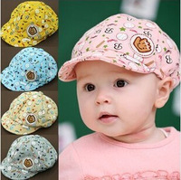 2014 new hot selling! children hat fashion Baby Caps Infant hats caps Kids baseball caps free shipping