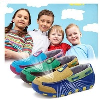 Children shoes kids sneakers child leather genuine single shoes Moccasins kids shoes for girl
