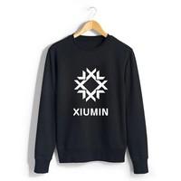 exo kris tao clothing pullover sweater DO XIUMIN KAL SUHO CHEN emoji clothes exo hoodie bigbang