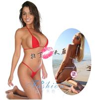 micro bikini mini maillot de bain biquini Ultimate temptation milk silk viscose ultra-thin swimwear girls