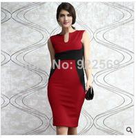 2014 summer and autumn the new style socialite sleeveless women's dress