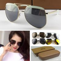 Hipster coating sunglass GREY ANT Hexcel Coating brand designer sunglasses men aviator cycling sunglasses women sun glasses men