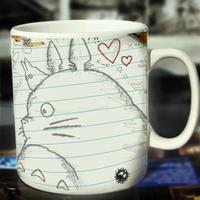 Totoro Mymikku cartoon milk coffee tea home office mug cup drinkware
