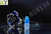 Wholesale - Fedex free shipping!  2ml pe empty drop bottle 2ml childproof and tamper with long thin tip dropper