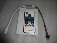 smart mini RF pixel controller;support WS2811//WS2812B/TM1804/TM1809/INK1003 etc;DC5V input