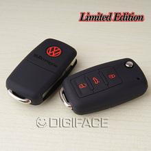silicone car key cover case Volkswagen VW polo passat b5 b6 golf 4 5 6 jetta mk6 tiguan Gol CrossFox Plus Eos Scirocco Beetle(China (Mainland))