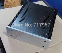 AMPLIFIER BOX/AMPLIFIER CASE/   FULL aluminum chassis case enclosure for amplifier/headphone 212*70*257 mm