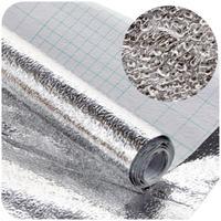 thicken waterproof moisture-proof cabinets aluminum foil sticker table drawer mat oil from kitchen foil sticker