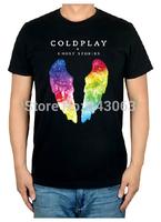Coldplay Ghost Stories MAGIC 3D new 2014 mma men shirt hot brand casual rock shirt items unique fitness moleton heavy Dark Metal