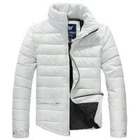 G A Brand Men Duck Down Shirt Coat men's Hoodies Outdoors Breathable Fashion Parka Jumpsuit Thick Warm Autumn Winter Jacket