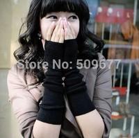 fashion wrist length sleeve yarn lucy refers to fingerless long gloves arm sleeve oversleeps thin style
