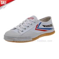 Warrior  soft outsole sport shoes running  vintage  canvas shoes men women's