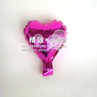* Pink heart-shaped *6 inch aluminum film balloon love type solid aluminum foil balloons wedding venue