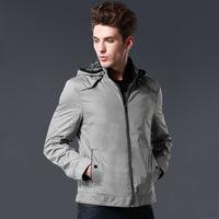 Heilan home shear label men's thin jacket brand men's leftover stock treatment 3c418