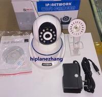 HD 720P 1MegaPixel Wireless WiFi IP Camera Pan Tilt PTZ P2P IR Night Vision 10-20M 2-Way Audio 32G TF Card  Motion Detect