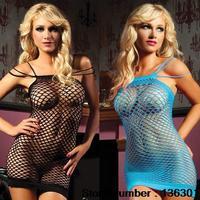 Hot sale Sexy lingerie 7026 women sexy mesh leotard hollow lingerie fashion underwear free shipping