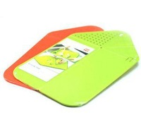 free shopping  wholesale  The kitchen chopping board, plastic board portable folding   50pieces/lot  YJ74