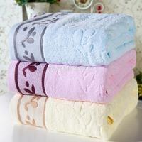 Home textile ~New style 100% cotton bath towel ,SPA Wrap ,jacquard bath towels ,size :70*140CM ,370g