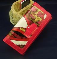 2014 new arrives brand women rivet wallet leather chain wallet fashion purse women clutch wallet ladies handbag mobile phone Bag