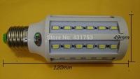 10pcs/lot Dimming E27 E14 B22 15W LED Corn Light led lamp 54 LED SMD 5730/5630 Chip 110V/220V Warm White Cool White led Lamp