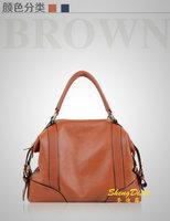 Wholesale 2014 new style famous brand women handbag designer leather SMILEY totes high quality fashion european leather handbags