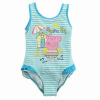 hot sale children swimsuit kids one piece summer princess swimming cloth baby girl cartoon swimwear