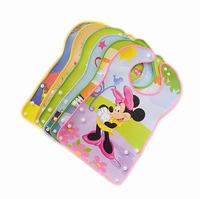 5pcs Baby Boy Girl Kids Newborn Children Toddler Infant Carter's Bibs Waterproof Saliva Towel Scarves Feeding Apron No-clean